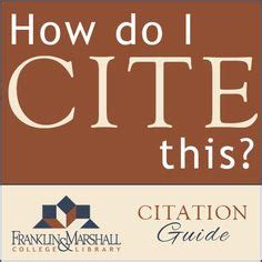 Citing a journal article in an essay writing